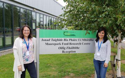 Séjour au Teagasc center – Sandra BEAUFORT et Silvia VILLARREAL