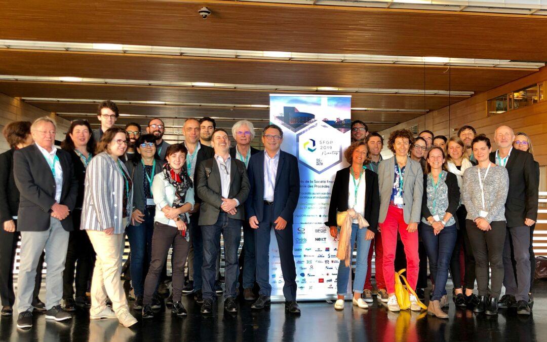 Le LGC présent au congrès SFGP 2019 à Nantes